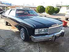 Chevrolet : Impala Caprice 1976 CHEVY CAPRICE GLASSHOUSE LOWRIDER DONK IMPALA 75 GLASS HOUSE