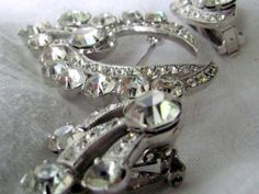 SALE ViNTAGE EiSENBERG BRoOCH AND EaRRING by AuntSuesVintage, $125.99