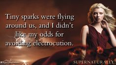 One of our quote Wallpapers we've made for our Summer of Supernatural and Baby It's Cold Outside Facebook page. This one's for Supernaturally by Kiersten White, a sequel to her first book Paranormalcy.