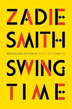 Jon Gray (Gray318) #bookcover #swingtime #zadiesmith #typography