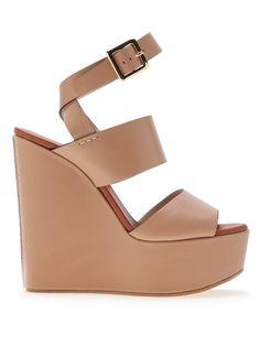 CHLOE wedge sandal by: CHLOE