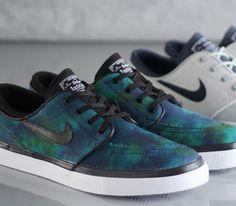 "Nike SB Janoski Low ""Nebula"" – Multicolor / Black"