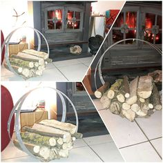 Recycled Art: Hot off Andy's workbench! #recycledart #logbasket #portebuches #artdelabarrique #winebarrelart #frenchlifestyle #madeinOccitanie http://ift.tt/2lJybjD