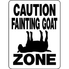 Amazon.com: FAINTING GOAT ALUMINUM GOAT SIGN 3199A2: Everything Else