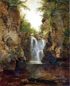 Bash Bish Falls, 1855-60, John Frederick Kensett,