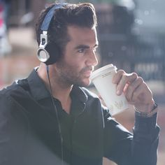 Coffee, and the music will be the best companion.