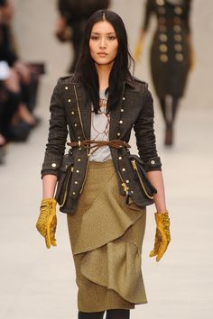 Burberry Prorsum Fall 2012 - My favorite collection ever!