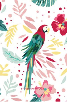 Iphone Wallpaper - 2 669 × 4 783 pixels - Iphone and Android Walpaper Parrot Wallpaper, Tumblr Wallpaper, Wallpaper Backgrounds, Colorful Wallpaper, Cellphone Wallpaper, Iphone Wallpaper, Geometric Bird, Wall Paper Phone, Bird Illustration