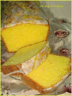 In my kitchen: Babka cytrynowa Lemon Recipes, Sweet Recipes, Baking Recipes, Cake Recipes, Dessert Recipes, Sweets Cake, Cupcake Cakes, Different Cakes, Pumpkin Cheesecake
