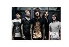 Bring Me The Horizon Music Band Custom Wall Paper HD Retro Pictures and Prints poster Wall Sticker office home Decor U1-654