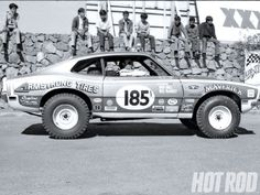 Off-Road Ford Maverick.