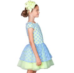 BULINE ALBASTRE TUL VERDE - ROCHITA ANIVERSARE Special Occasion, Cinderella, Girls Dresses, Disney Princess, Disney Characters, Tulle, Green, Dresses Of Girls, Little Girl Dresses