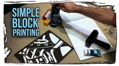 In this tutorial I show my cheap-n-easy method for home printmaking without the traditional hassle with woodcutting or linocut blocks. — Arts and Crafts.
