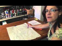 Quilt Tutorial: Lea McComas - Portrait Quilts - Lesson 3 - YouTube