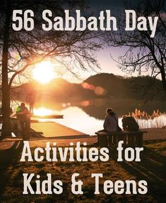 I know it says Sunday, but there's are good suggestions for the real day Sabbath. Keeping the Sabbath day holy can be a challenge when raising little children. Check out these fun 'Sabbath' activities that will help you keep the Lord's Day!