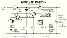 Li-ion Battery Charger for Mobile phone by TL431