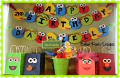 "Photo 1 of 12: Sesame Street / Birthday ""Sesame Street - Dannielle is Turning 2"" 