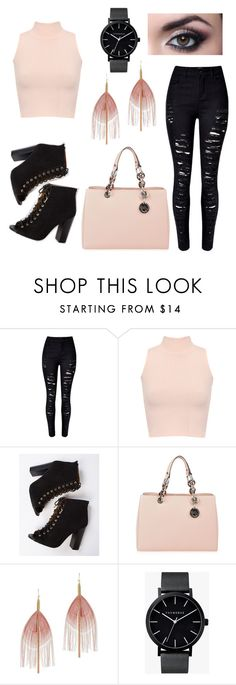"""""""Pink Please..."""" by just-lea on Polyvore featuring WithChic, WearAll, MICHAEL Michael Kors, Serefina and The Horse"""
