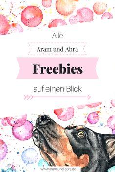 Grußkarten | Illustrationen für Hundeblogger | Header | Grafiken für Social Media | Alle Freebies von Aram und Abra zum kostenlosen Download