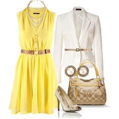 i need this yellow dress