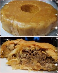 Greek Recipes, Quiche, Tart, Food And Drink, Pie, Dinner, Cooking, Sweet, Desserts