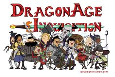 Dragon Age: Inquisition in Adventure Time style!