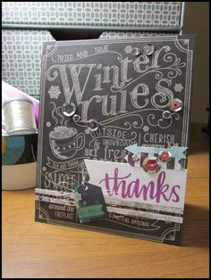 Such a Pretty card by Lynnea using the January 2015 card kit by Simon Says Stamp