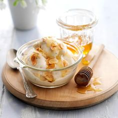 Keep peeled banana chunks in a sealed container in the freezer, so you can whiz up this low-fat ice cream in seconds