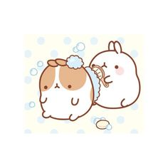Molang scrub and wash ><