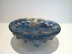 Buddha bowl, Glass Sculpture, Susan Gott