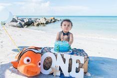 Nemo theme Smash Cake | Sunset beach session | Joshua