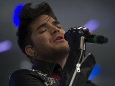 12 photos of Adam Lambert's first UK festival appearance at Fusion | Gigwise