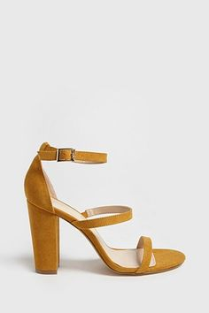 5059f4c47b9 Faux Suede Ankle-Strap Heels. Ankle StrapsAnkle Strap HeelsShoes HeelsFlats SandalsHigh Heel BootsStiletto PumpsStilettosBlock Heels