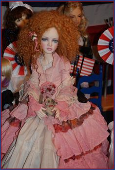 I love the redheads!  Carmela's Doll Collection