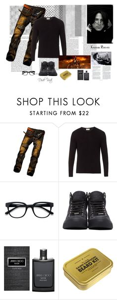 """""""Sem título #2386"""" by dedebrito ❤ liked on Polyvore featuring American Vintage, Rachel, Jimmy Choo, Men's Society, men's fashion and menswear"""