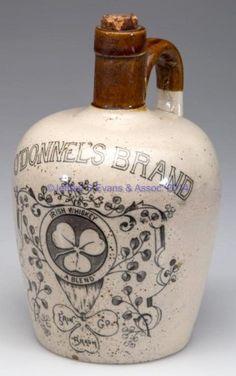 O'Donnel's Brand Irish Whiskey jug