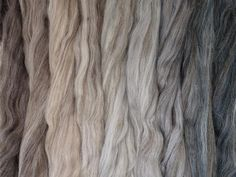 Blended Fibre with seamless colour changes. Color Change, Spinning, Quartz, Packing, Long Hair Styles, Hand Spinning, Bag Packaging, Long Hairstyles, Long Hair Cuts