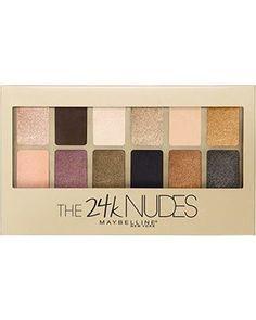 DEAL ALERT: Maybelline New York The 24K Nudes Eyeshadow Palette, 0.34 Ounce