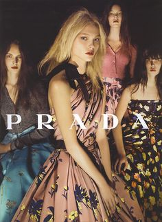 Prada Resort 2008 #campaign