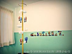 Eu que fiz:Decoração sala infantil...
