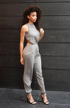 Hazy Silk Jumpsuit  [[MORE]]  Hazy Silk Jumpsuit designed by @cdmjessicalynn   Fashion By Briea Dior