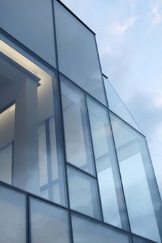 Museum of Ocean and Surf by Steven Holl Architects in collaboration with Solange Fabiao. #Museum #Glass