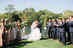 Photography : Justin DeMutiis Photography Read More on SMP: http://www.stylemepretty.com/2016/09/14/backyard-wedding-in-panama-city/