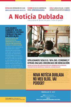 Nova Notícia Dublada no meu blog #notícias #espanhol #noticia #español #audio #nativo #castelhano http://aulasdeespanholonline.com.br/blog/neuromitos-en-la-educacion/