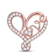 Heart Pendants, Heart Pendant Necklace, Diamond Heart, Heart Ring, Diamond Settings, Heart Jewelry, Gold Material, Round Diamonds, Jewerly