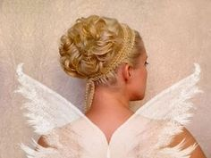 Wedding updo Curly prom hairstyles for short medium long hair ...