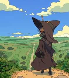 Travelling Wizard by Varguy