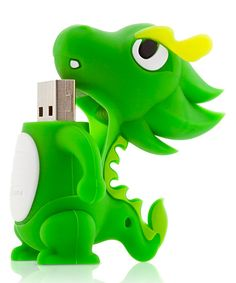 Green Dragon USB Drive with Changeable Cover. I just wish they had a Reptar USB. Computer Gadgets, Technology Gadgets, Usb Drive, Usb Flash Drive, Objet Wtf, Hub Usb, Green Dragon, Flash Memory, 3d Printing