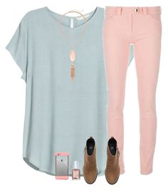 """""""So much to tell! Rtd!"""" by sweet-n-southern ❤ liked on Polyvore featuring H&M, Balenciaga, Kendra Scott, Essie and LifeProof"""
