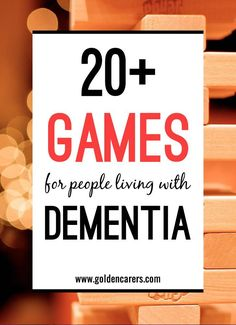 games, Adapting and modifying games for seniors is necessary for all sorts of different reasons. As well as for those living with dementia, games need to be modified for those who use wheelchairs and those with impaired vision or sensory loss.